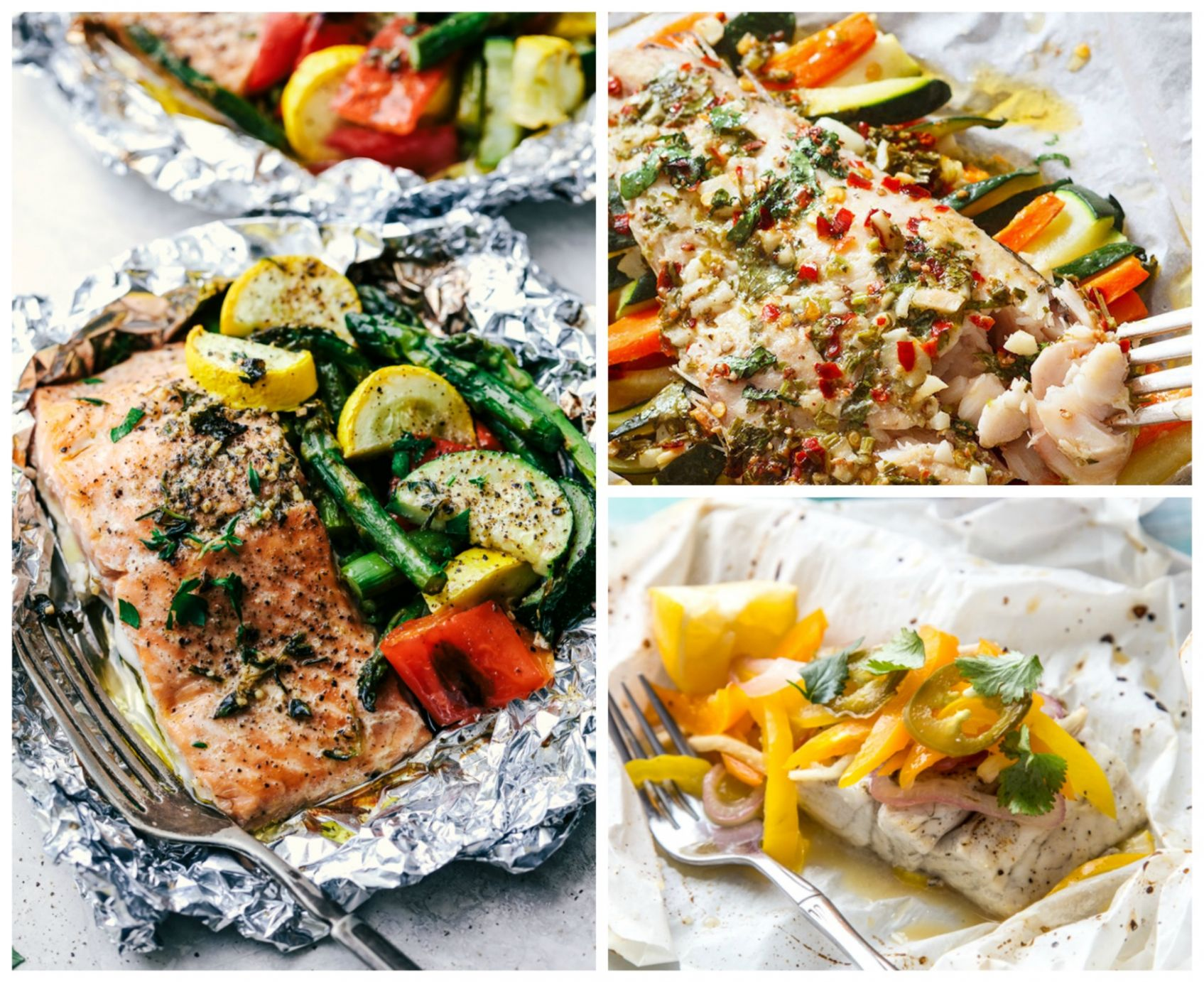 11 Easy Fish Foil Packet Dinners for Healthy Weight Loss - Recipe Fish On The Grill In Foil