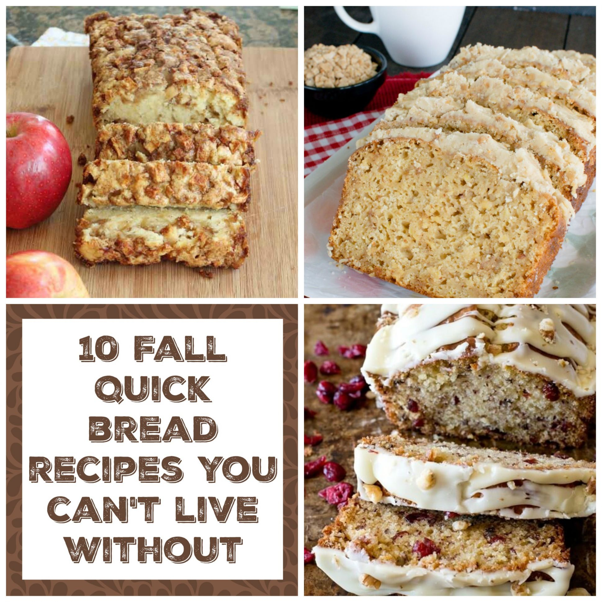 11 Fall Quick Breads - The Organized Mom
