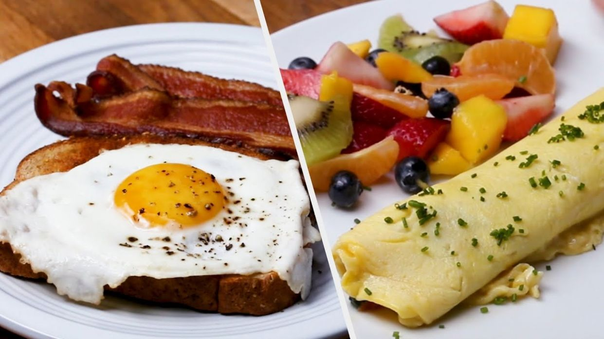11 Healthy Breakfast Recipes To Keep You Fresh All Day • Tasty - Breakfast Recipes Delicious