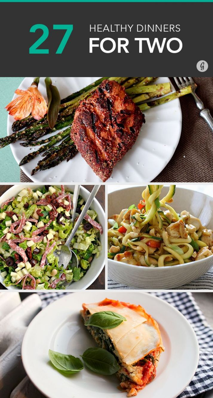 11 Healthy Dinner Recipes for Two | Healthy meals for two, Healthy ..