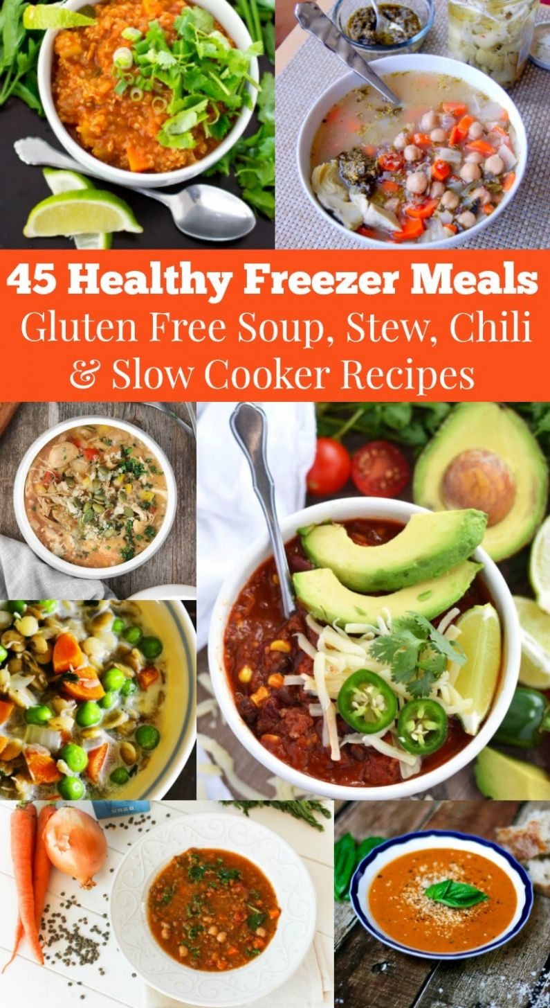 11 Healthy Freezer Meals to Help You Reclaim Dinner Time! - Healthy Recipes You Can Make Ahead Of Time