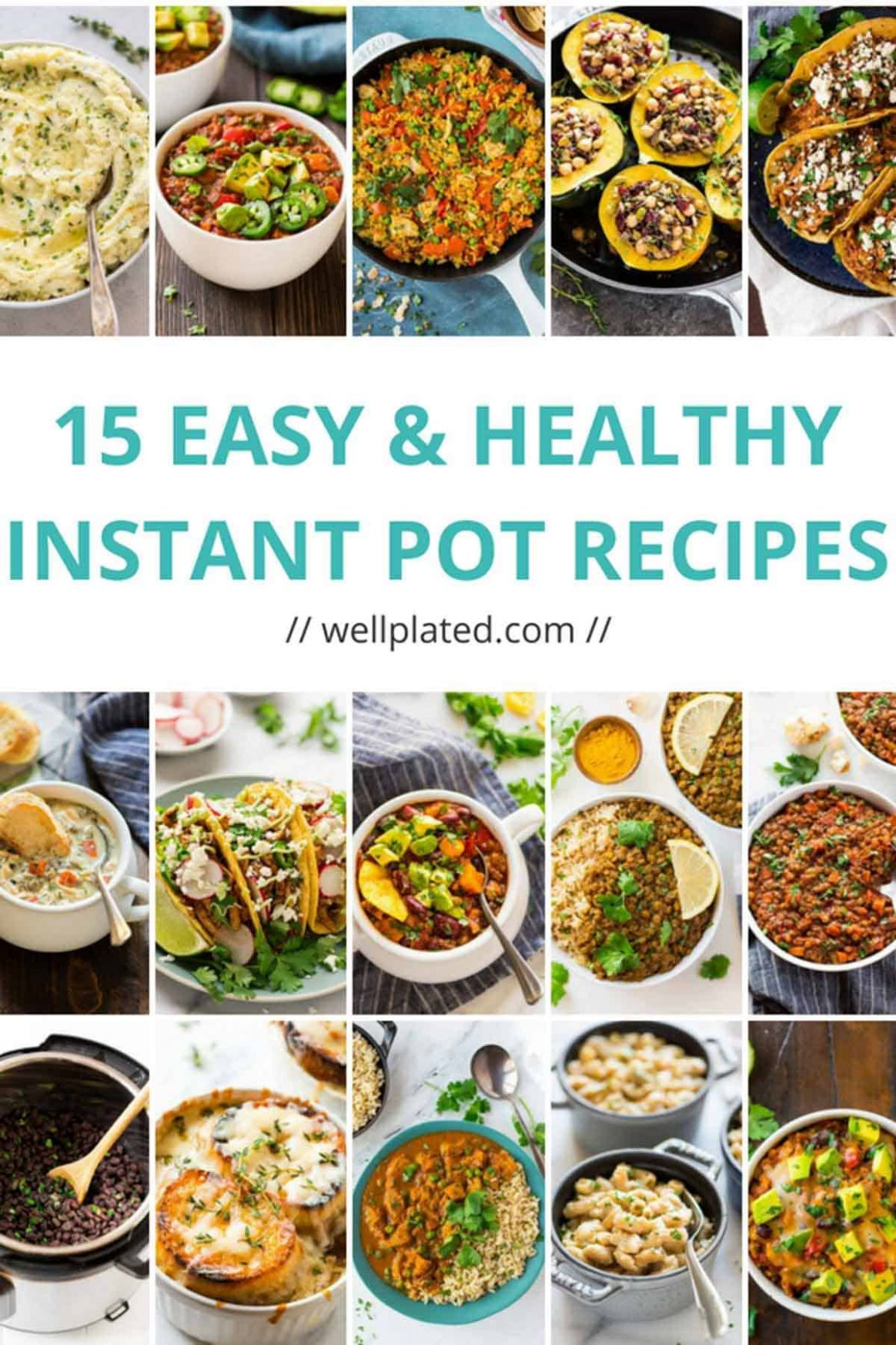 11 Healthy Instant Pot Recipes That Anyone Can Make - Easy Recipes Instant Pot