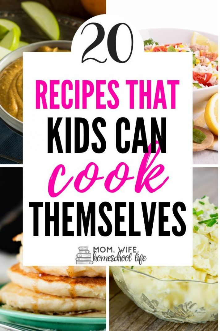 11 Healthy Recipes Kids Can Cook! | Food recipes, Recipes kids can ..