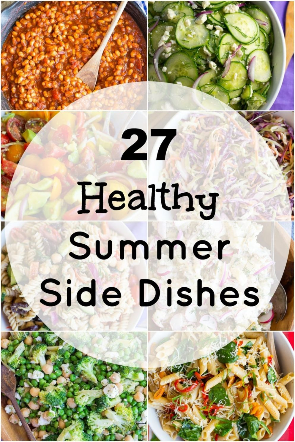 11 Healthy Summer Side Dishes - She Likes Food - Recipes Summer Side Dishes