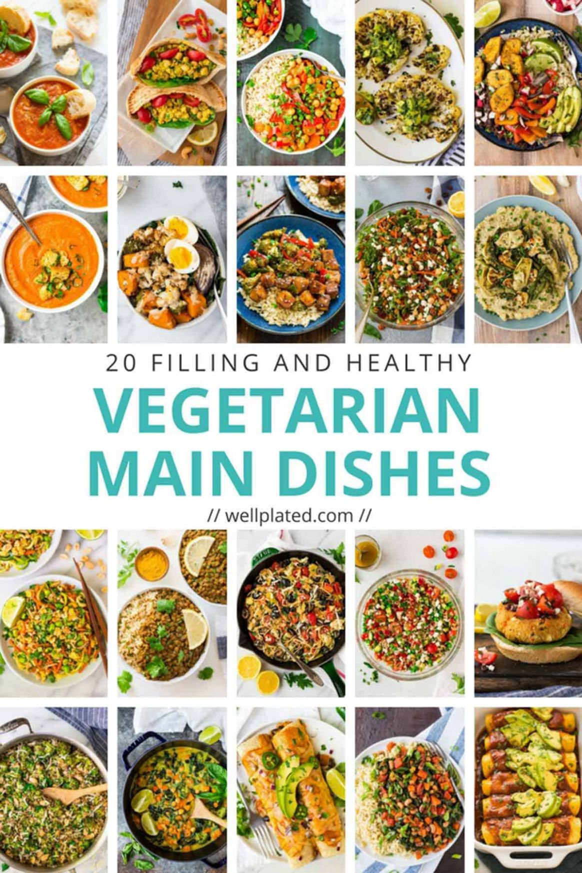 11 Healthy Vegetarian Dinner Recipes