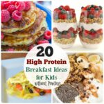 11 High Protein Breakfast Ideas For Kids – The Organized Mom – Breakfast Recipes Protein