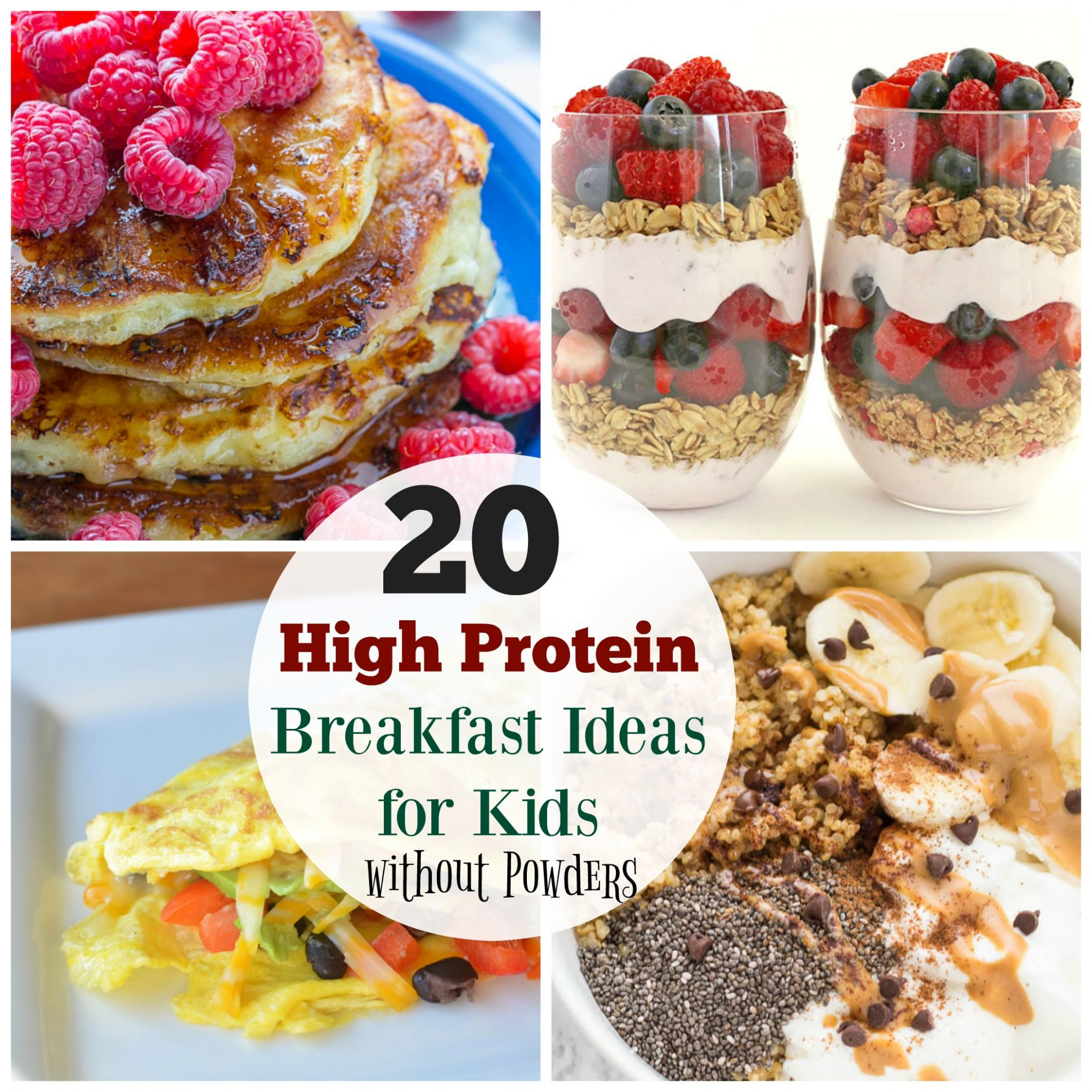 11 High Protein Breakfast Ideas for Kids - The Organized Mom - Breakfast Recipes Protein