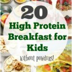 11 High Protein Breakfast Ideas for Kids - The Organized Mom