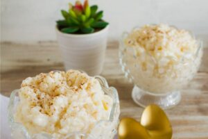 11 Ingredient Rice Cooker Rice Pudding
