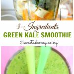 11 Ingredients Green Kale Smoothie For Toddlers. | Kale Smoothie ..