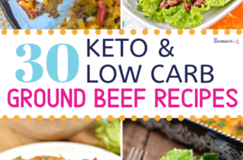 11 Keto Ground Beef Recipes | Dr. Davinah's Eats