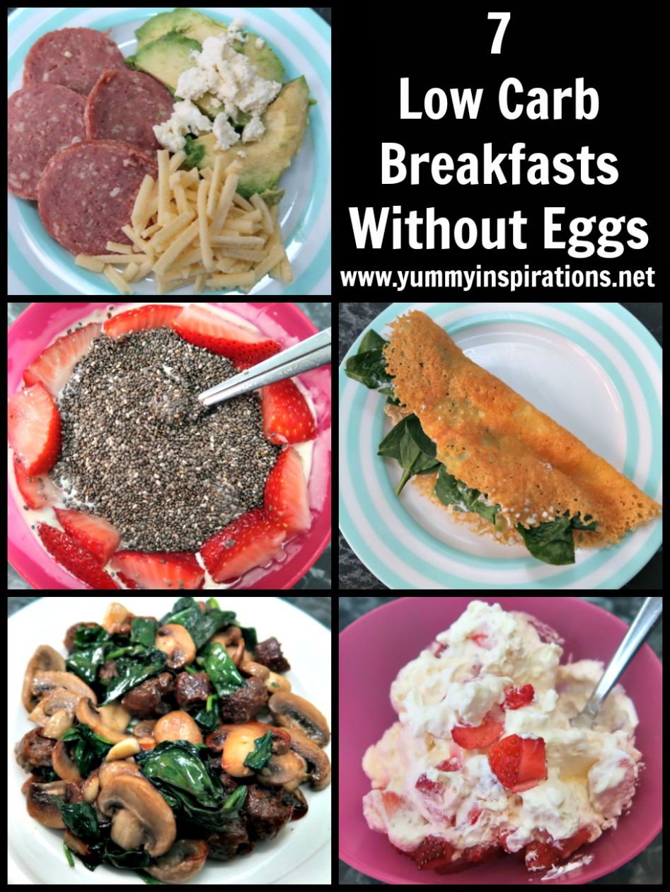 11 Low Carb Breakfast Without Eggs - Easy Keto Breakfasts With No Eggs - Breakfast Recipes No Meat