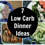 11 Low Carb Dinner Ideas - A Week Of Easy Keto Diet Dinner Recipes
