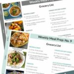 11 Meal Prep Menus + Grocery Lists – The Real Food Dietitians – Meal Prep Recipes For Weight Loss Grocery List
