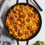 11 Minute Arroz Con Salchicha (Cuban Style Yellow Rice + Sausage) – Recipes Rice Sausage