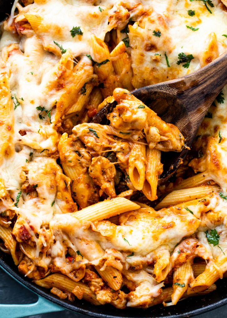 11 minute Chicken Pasta | Gimme Delicious - Simple Recipes Quick