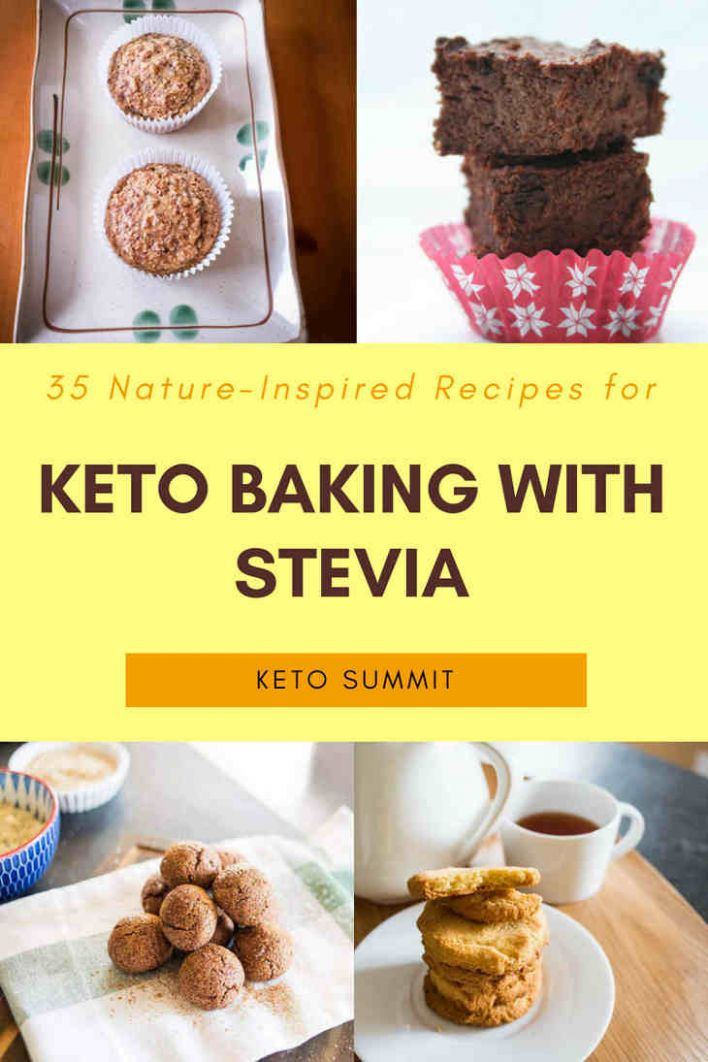 11 Nature-Inspired Recipes for Keto Baking With Stevia - Dessert Recipes Made With Stevia