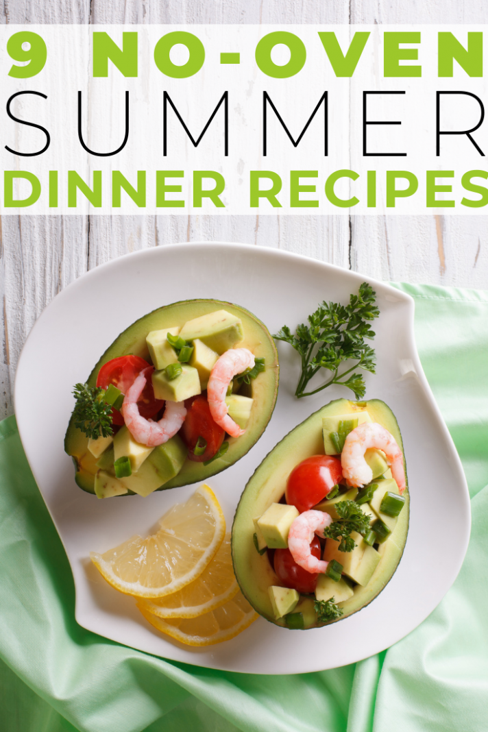 11 No-Oven Dinner Recipes For Summer - Get Healthy U | Good healthy ...