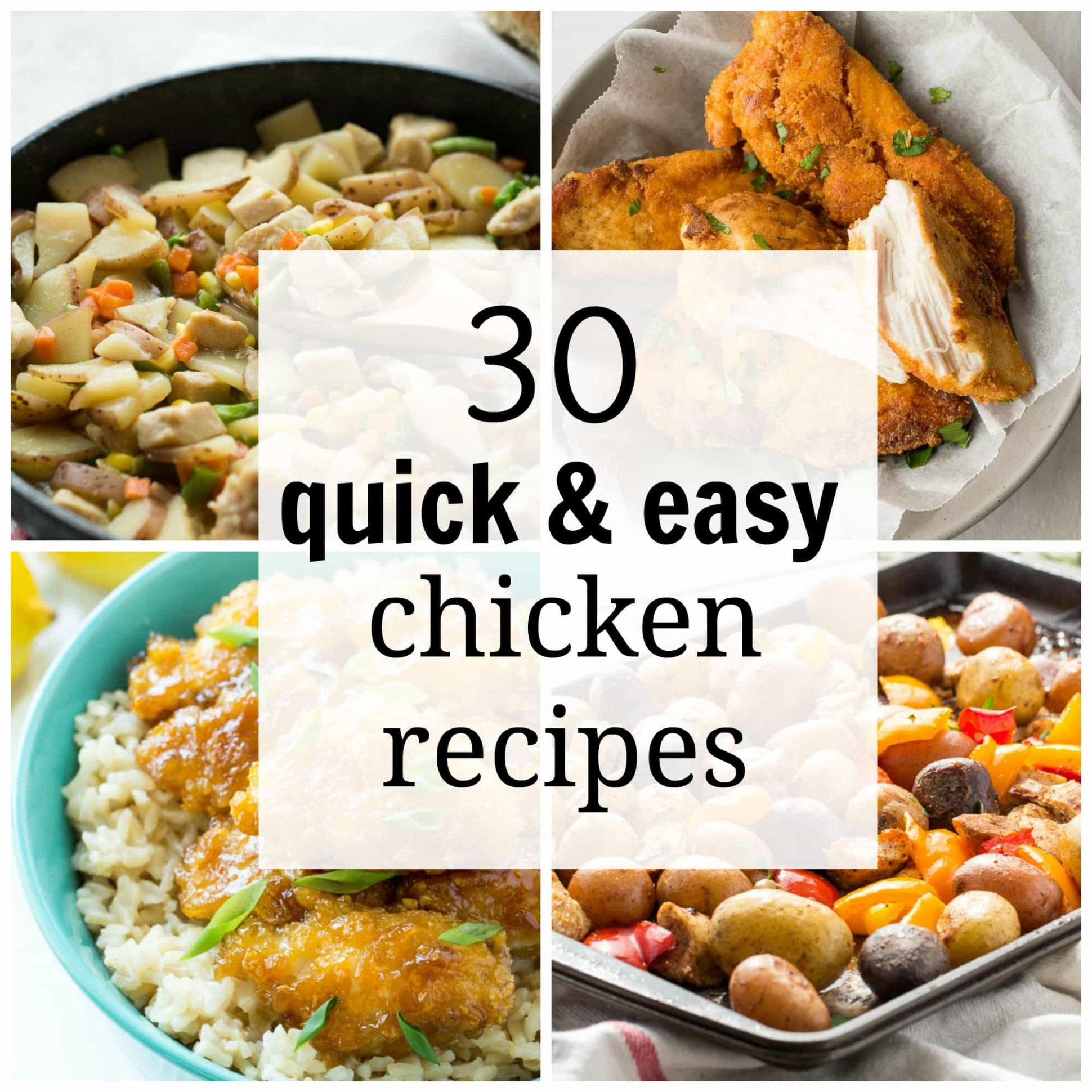 11 Quick and Easy Chicken Recipes for Busy Weeknights - Simple Recipes Quick