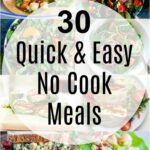 11 Quick And Easy No Cook Meals – She Likes Food – Summer Recipes No Cooking
