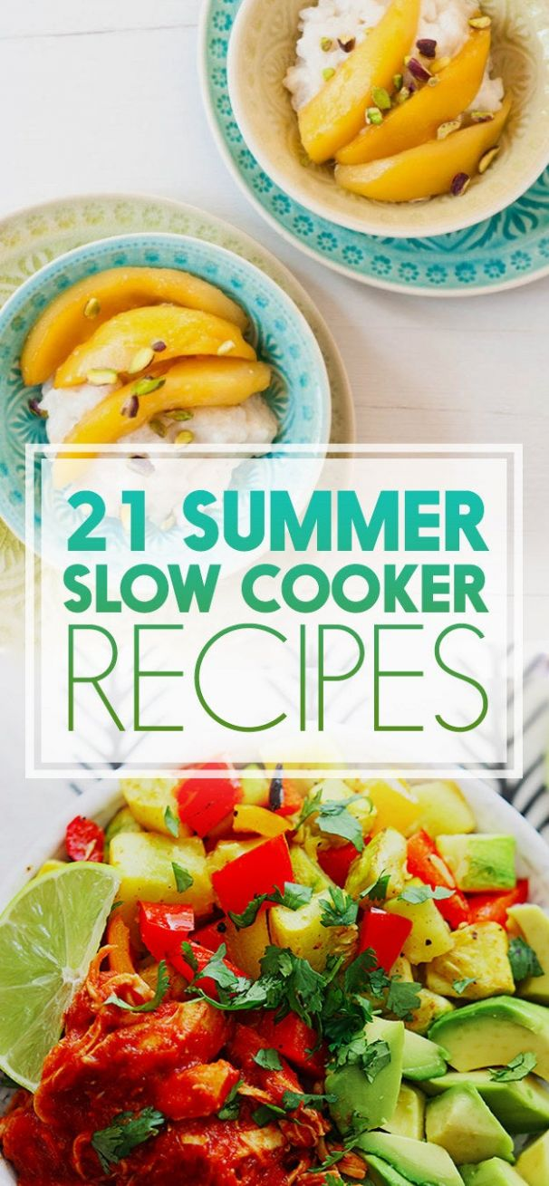 11 Reasons To Use Your Crock-Pot This Summer - Summer Recipes Buzzfeed