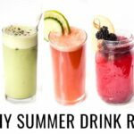 11 SUMMER DRINK RECIPES YOU NEED TO TRY! | Healthy & Vegan – Healthy Recipes Drinks
