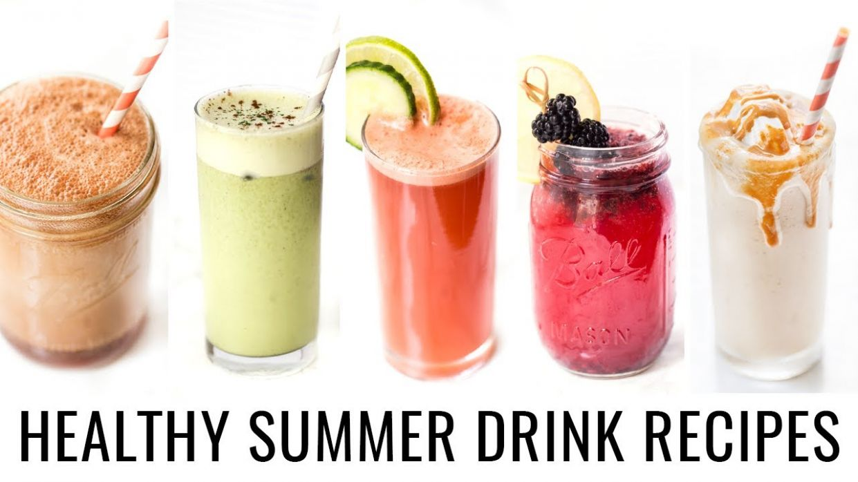 11 SUMMER DRINK RECIPES YOU NEED TO TRY! | healthy & vegan - Healthy Recipes Drinks