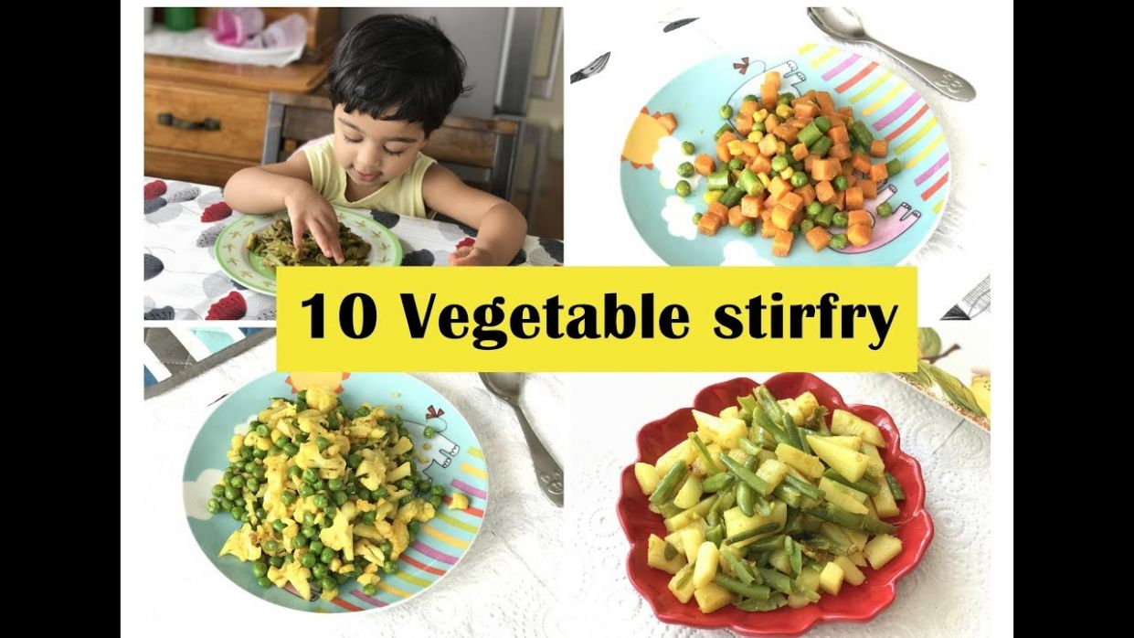 11 Vegetable Stirfry ( for 11+ toddlers & kids ) - Simple veg recipes for  Indian toddlers & kids - Vegetable Recipes Toddlers