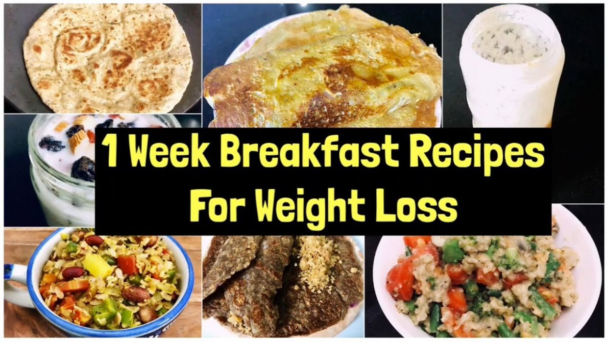 1111 Breakfast Recipes For Weight Loss | 11 Week quick & Easy Vegetarian  Breakfast Plan | Meal Plan - Breakfast Recipes For Weight Loss Easy