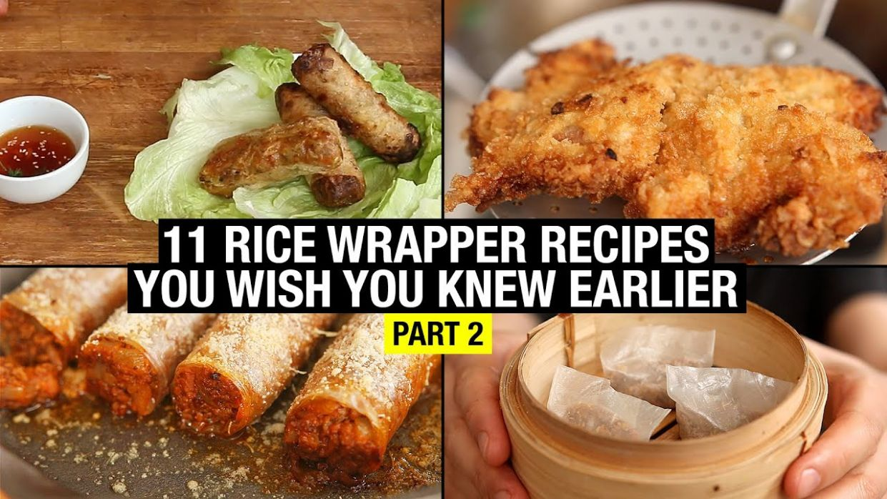 112 Recipes That Use Rice Paper Way Beyond Spring Rolls (part 12) - Recipes Rice Paper