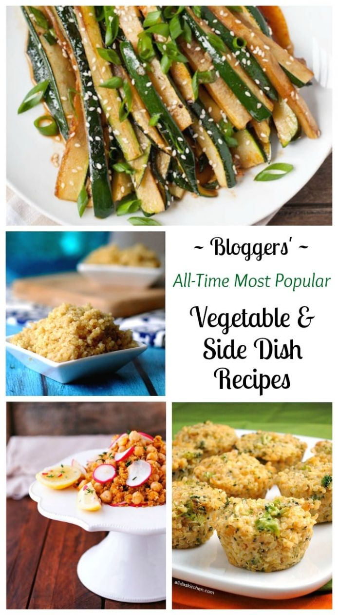 12 All-Time Best Healthy Side Dish and Vegetable Recipes - Two ..
