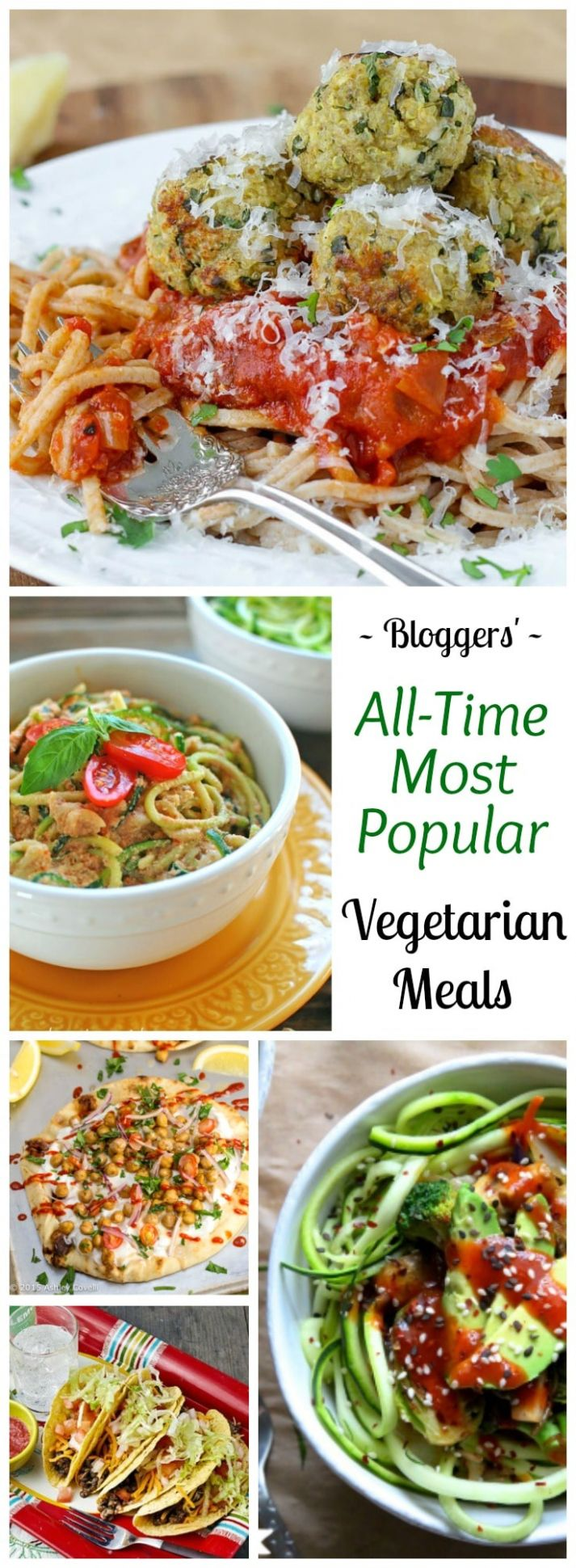 12 All-Time Best Healthy Vegetarian Meals - Two Healthy Kitchens