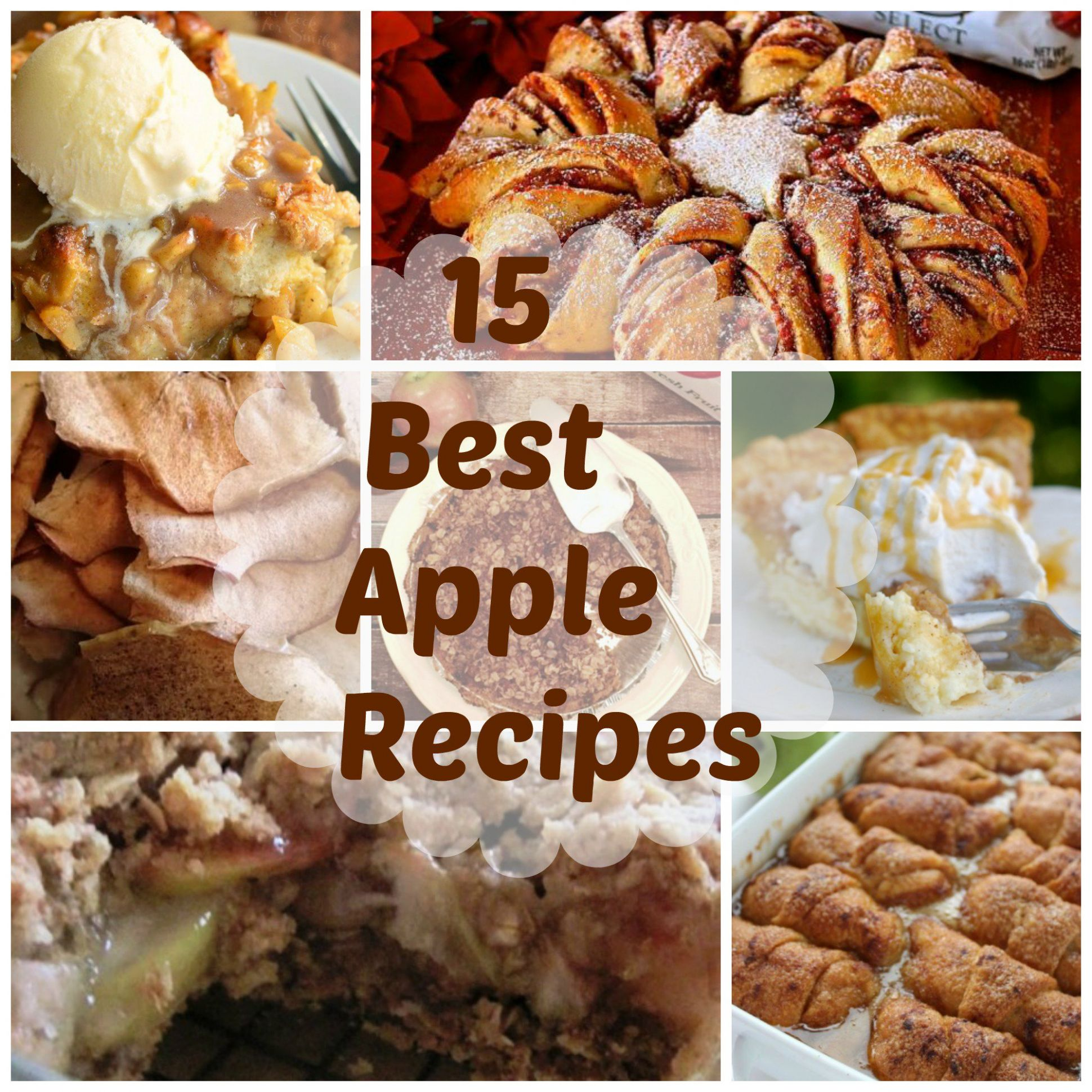 12 BEST Apple Desserts - Moore or Less Cooking - Recipes Dessert Apples
