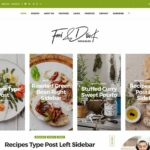 12+ Best Food WordPress Themes For Sharing Recipes 12 – AThemes – Dinner Recipes Blog