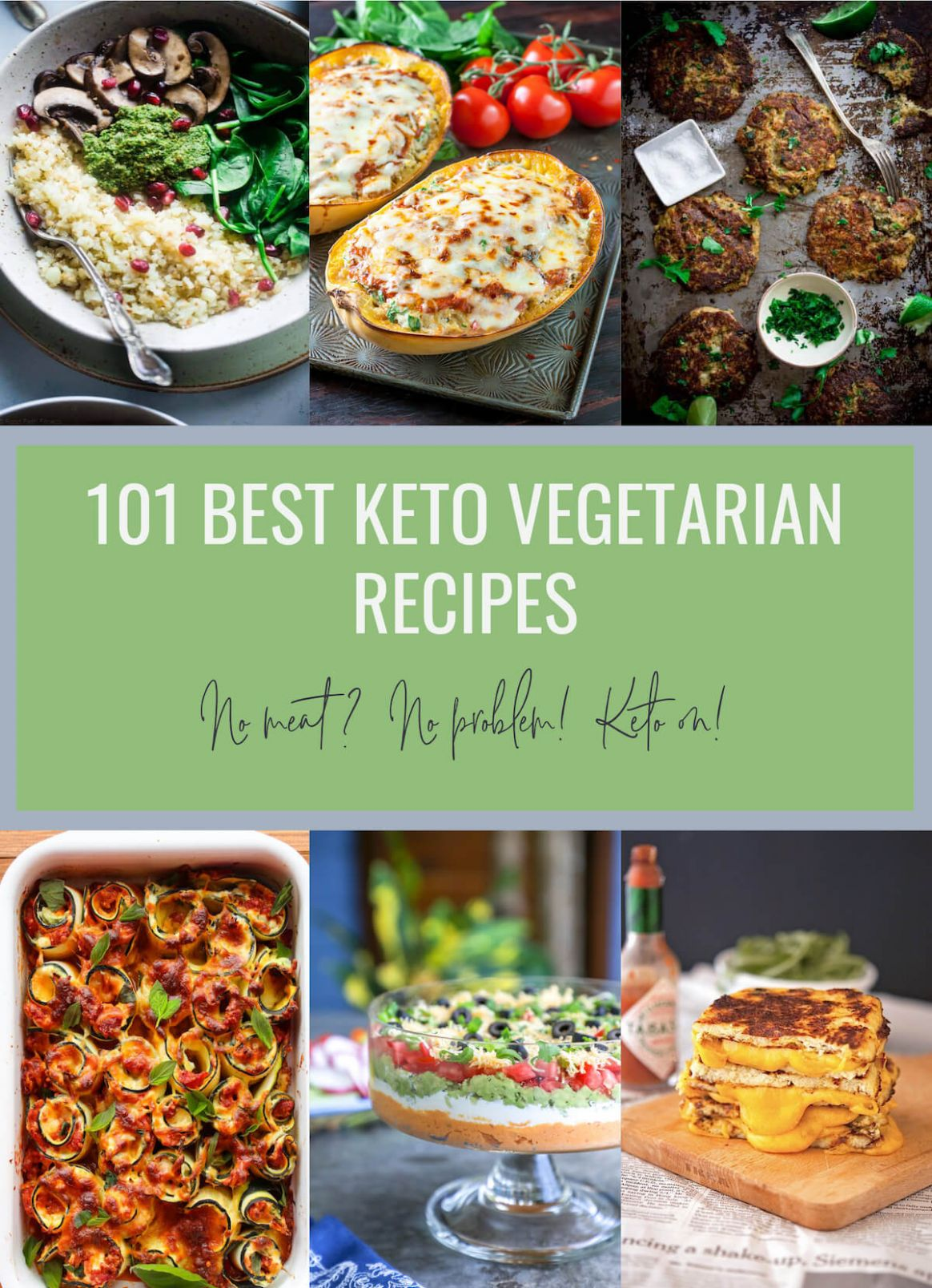 12 Best Keto Vegetarian Recipes - Low Carb | I Breathe I'm Hungry
