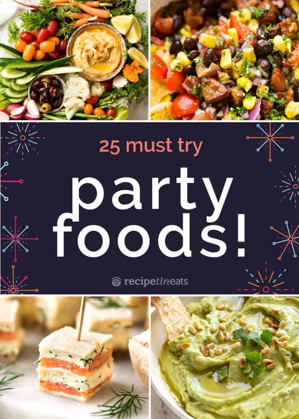 12 BEST Party Food Recipes! - Food Recipes With Pictures