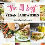 12 Best Vegan Sandwiches – Perfect For Easy Lunches – Namely Marly – Recipes Vegetarian Sandwiches