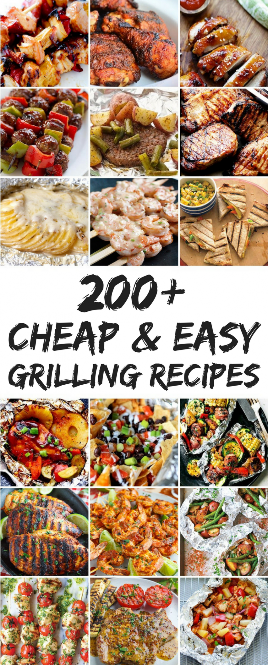 12 Cheap and Easy Grilling Recipes | Grilling recipes, Summer ..