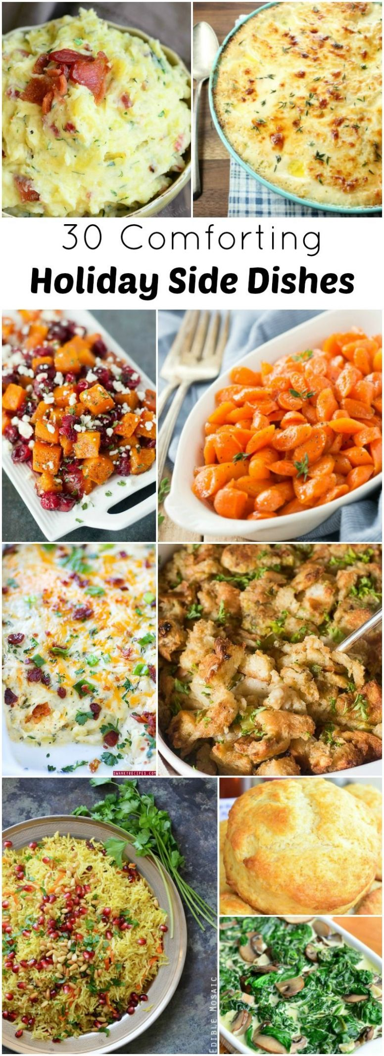 12 Comforting Holiday Side Dishes | Holiday side dishes ..