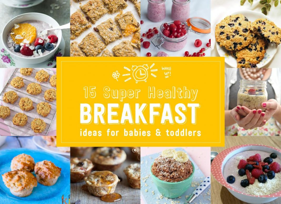 12 Delicious and Super Healthy Baby Breakfasts - Baby Led Feeding - Breakfast Recipes For Babies