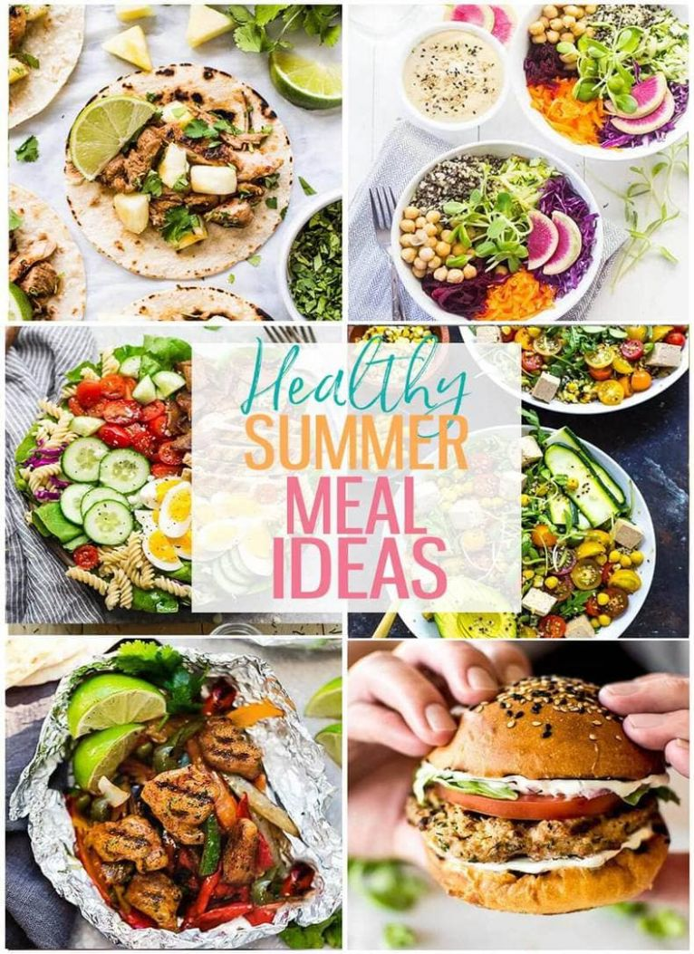 12 Delicious Healthy Summer Recipes - The Girl on Bloor - Recipes Summer Lunch