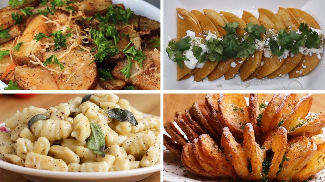 12 Delicious Potato Recipes • Tasty - Easy Recipes Potato