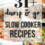 12 Dump and Go Slow Cooker Recipes (Crock Pot Dump Meals)