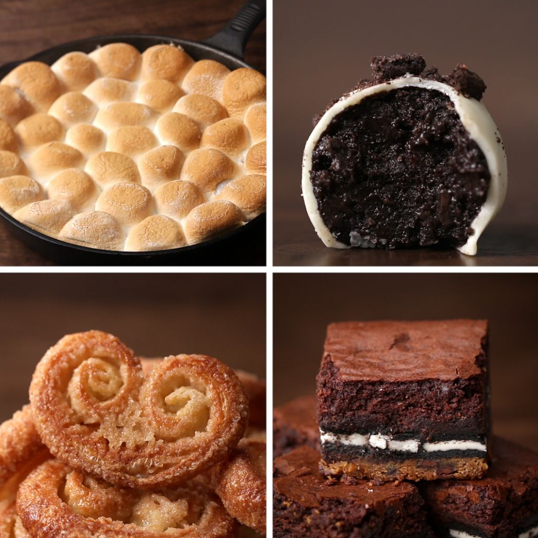 12 Easy 12-Ingredient Desserts | Recipes - Dessert Recipes By Ingredients