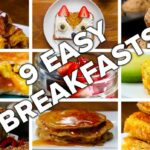 12 Easy & Delicious Breakfasts – Breakfast Recipes Youtube Video