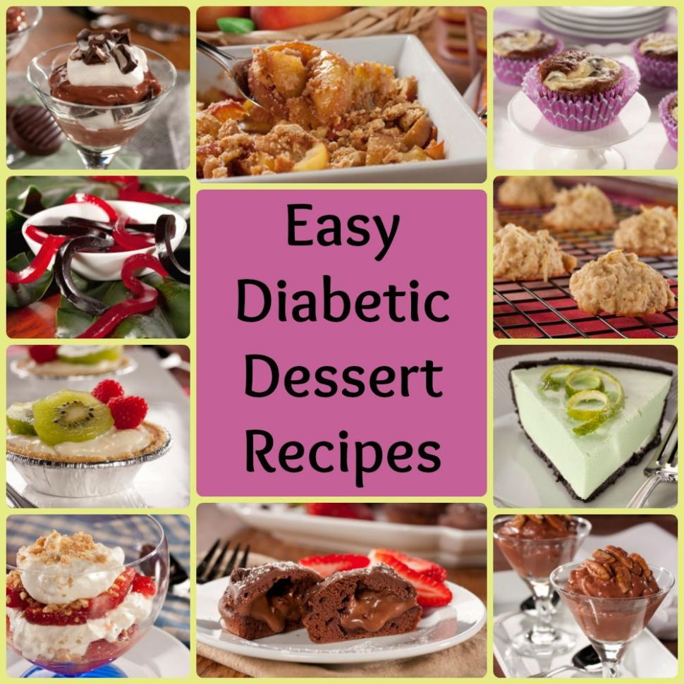 12 Easy Diabetic Dessert Recipes | EverydayDiabeticRecipes