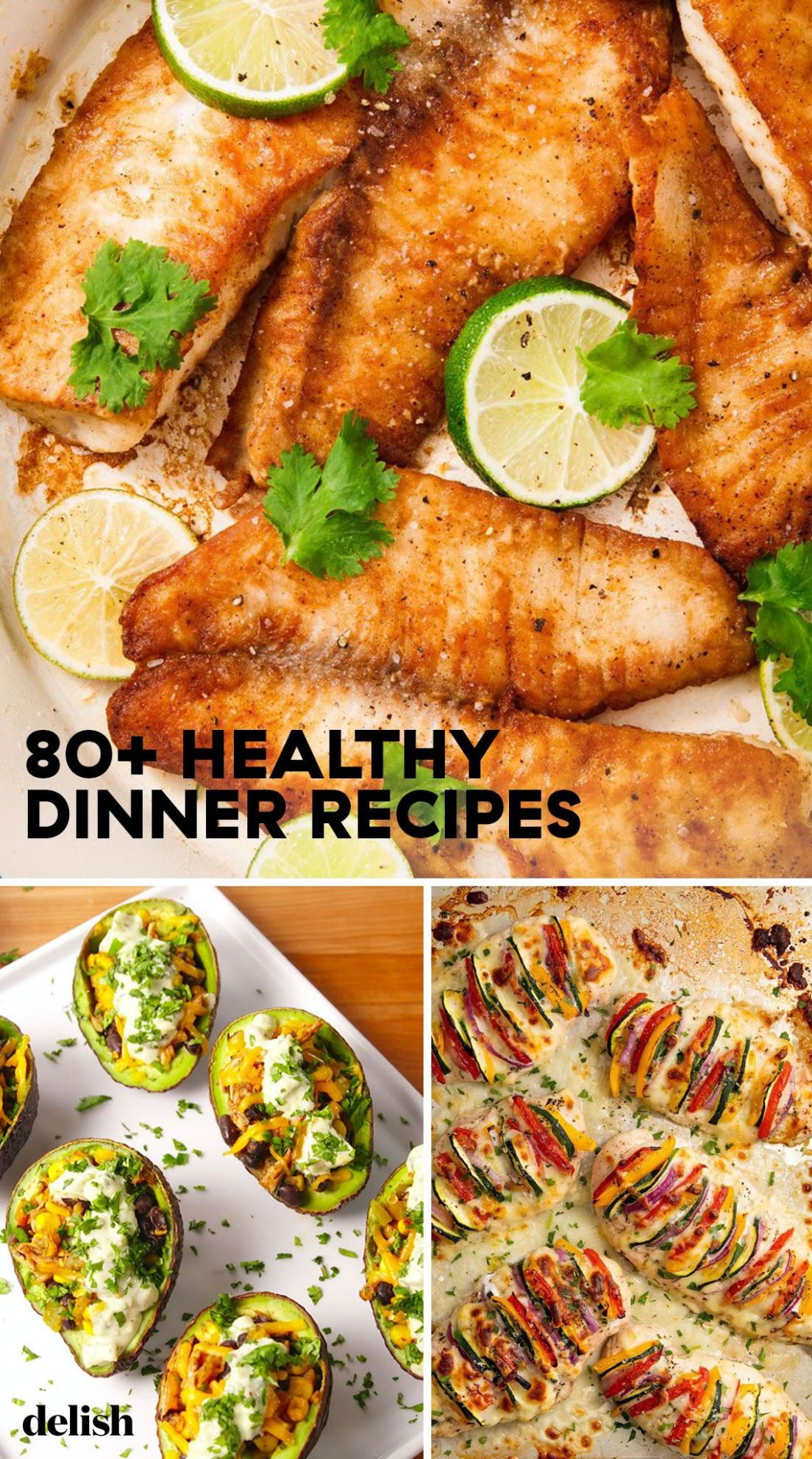 12+ Easy Healthy Dinner Ideas - Best Recipes for Healthy Dinners - Healthy Recipes Yummy