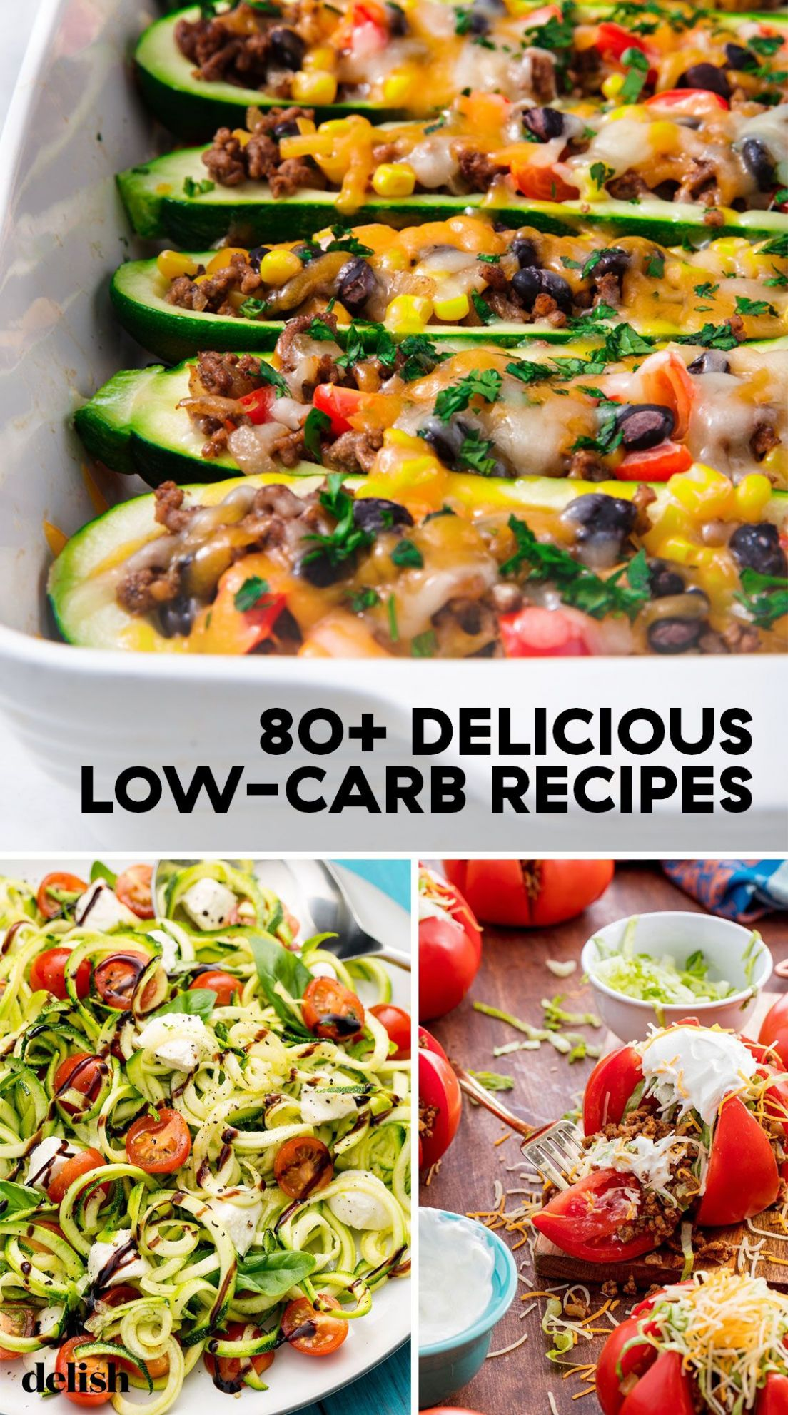 12+ Easy Low Carb Recipes - Best Low Carb Meal Ideas - Healthy Recipes No Carbs