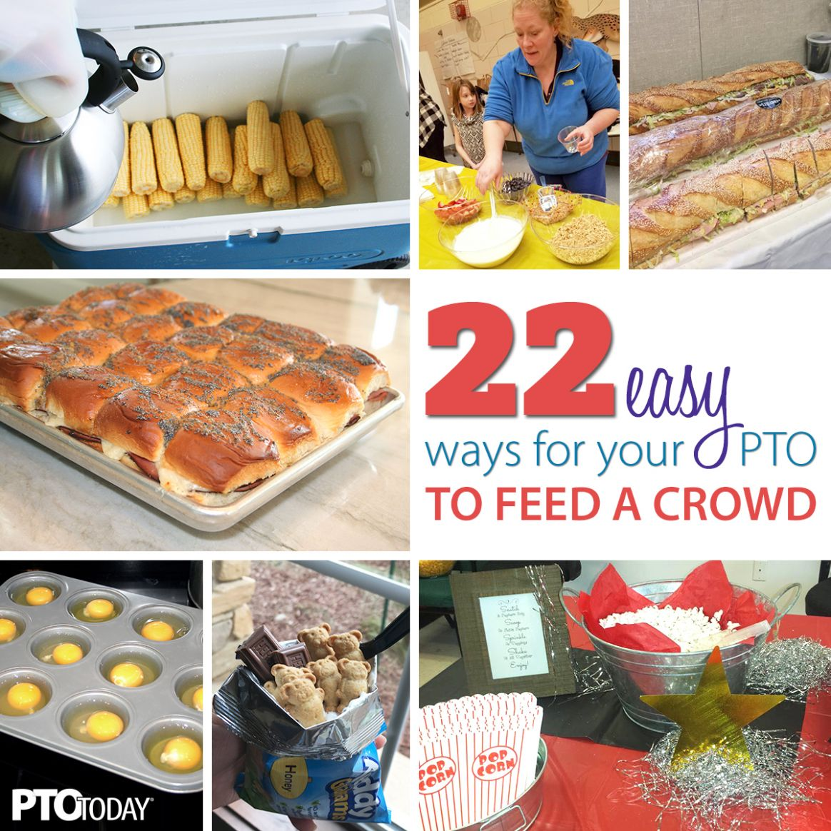 12 Easy Meal Ideas for Large Groups - PTO Today - Easy Recipes For Large Groups