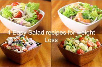 12 Easy salad recipes for weight loss